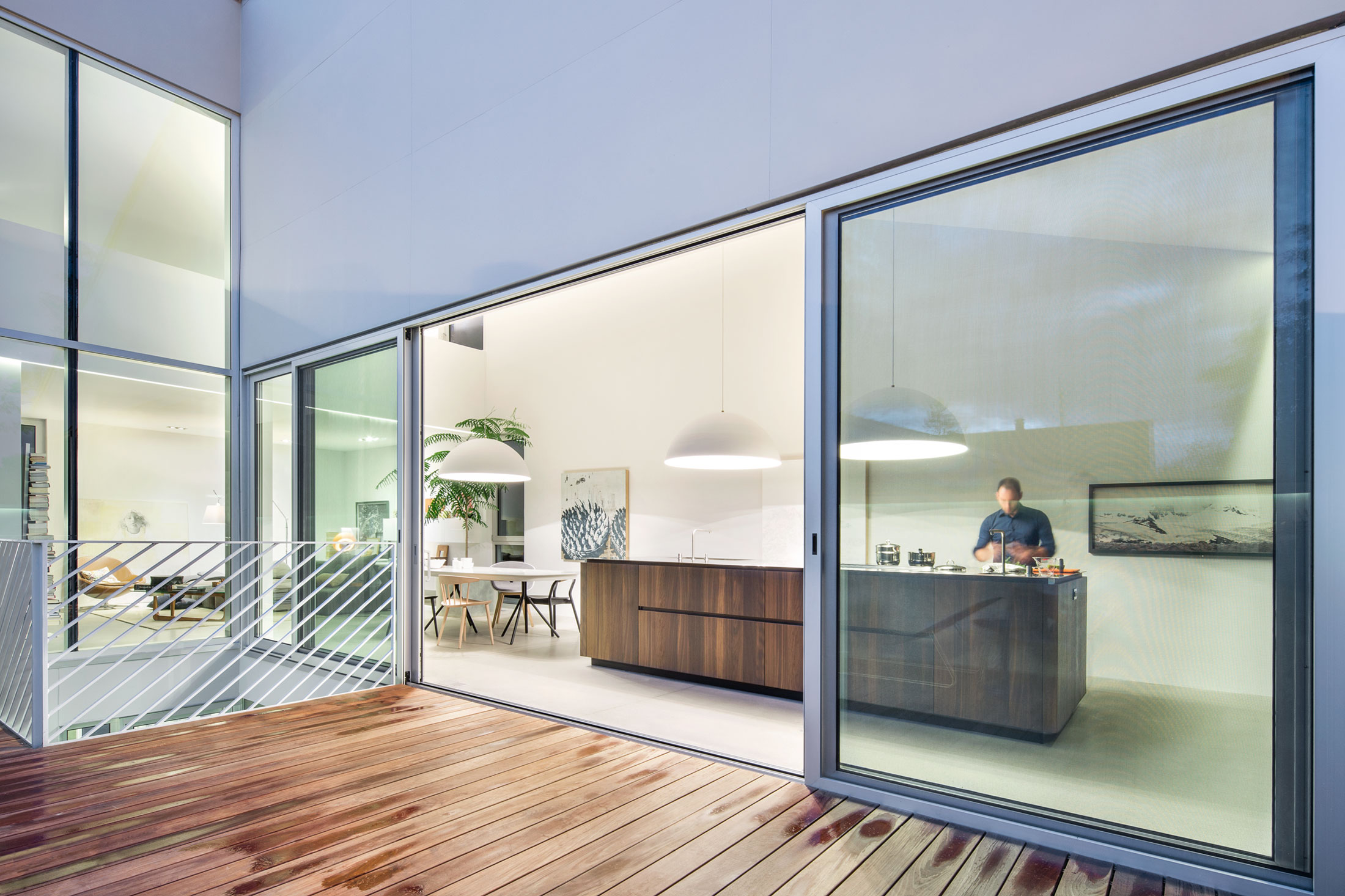 Eclectic Residence, Carved Out To Let The Light In
