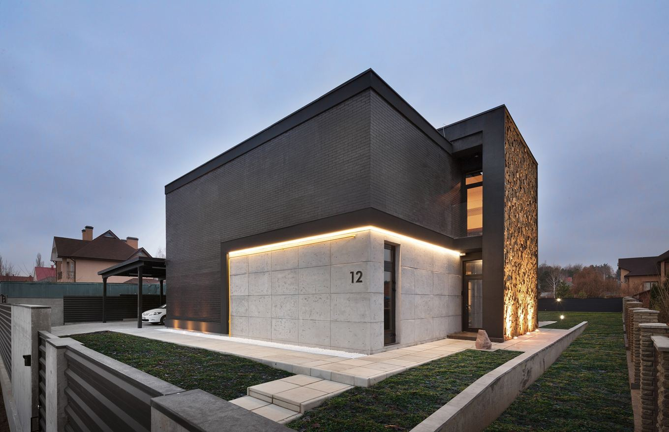Contemporary Kiev Residence Promotes Harmony With Its Design