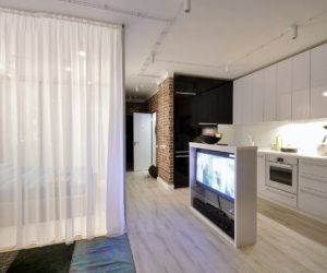 Apartment In Russia Redesigned To Bring In The Light