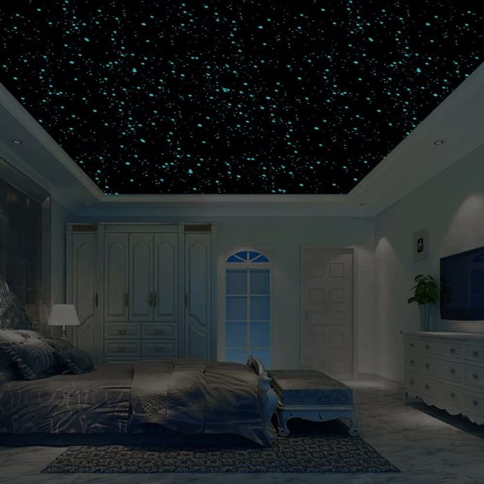tray ceiling Tray Ceiling with Stars