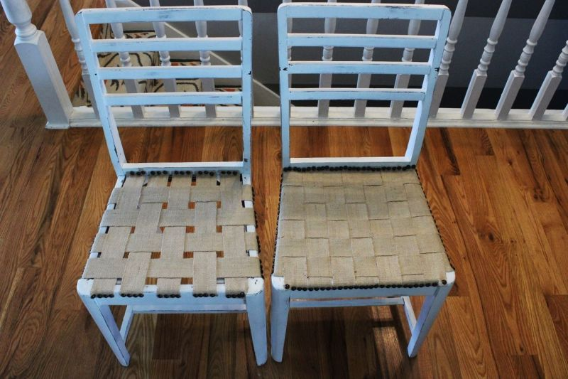 Two chairs makeover project