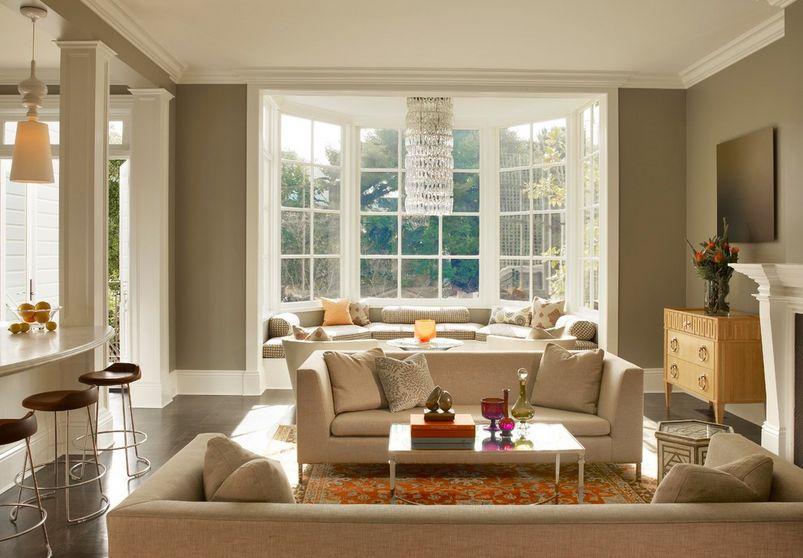 Bay Window Nook modern bay window styling ideas