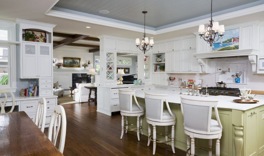 Stylish And Unique Tray Ceilings For Any Room - Kitchen tray ceiling lighting