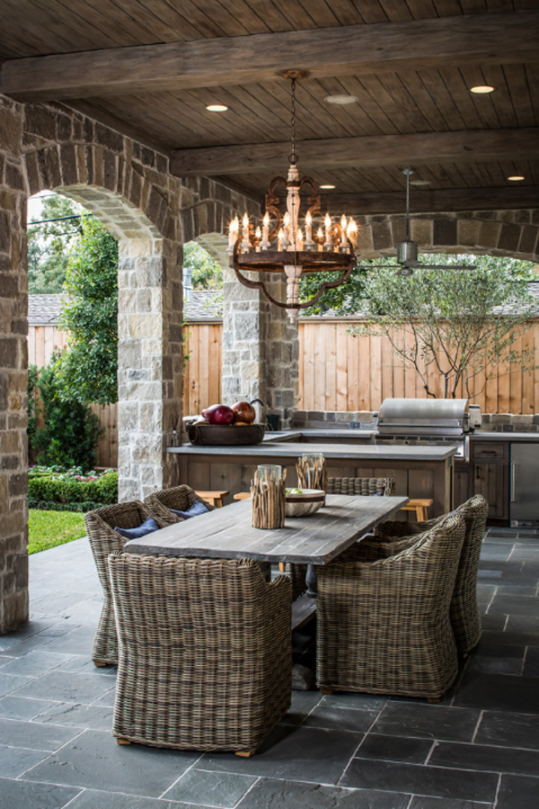 Outdoor chandeliers for your special spring spots view in gallery mozeypictures Gallery