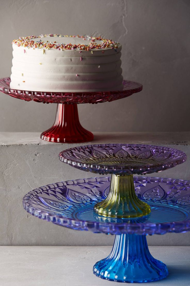Stained Glass Cake Stand