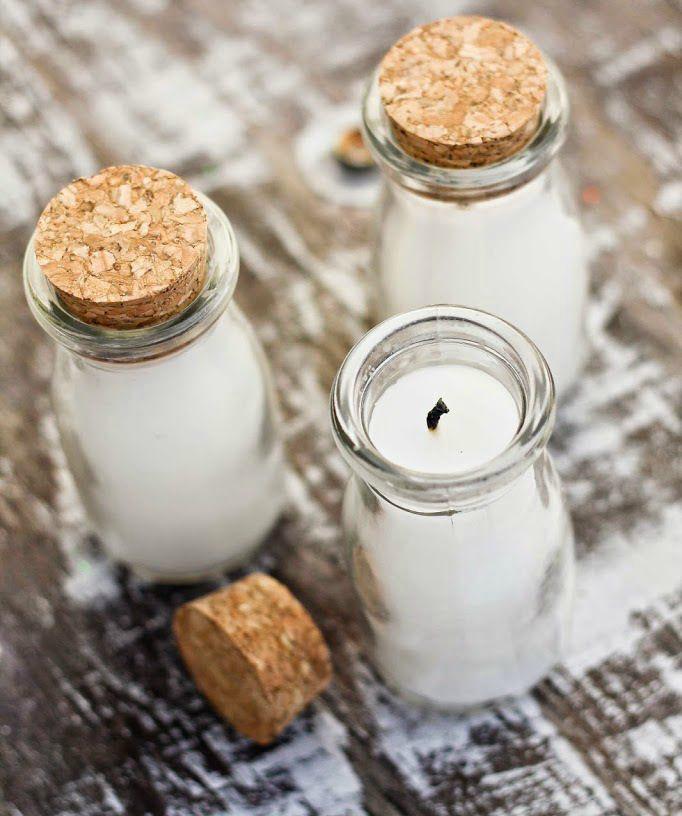 diy jar candle