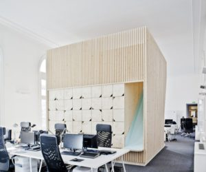 Modern HQ Transforms One of Paris' Classic Buildings