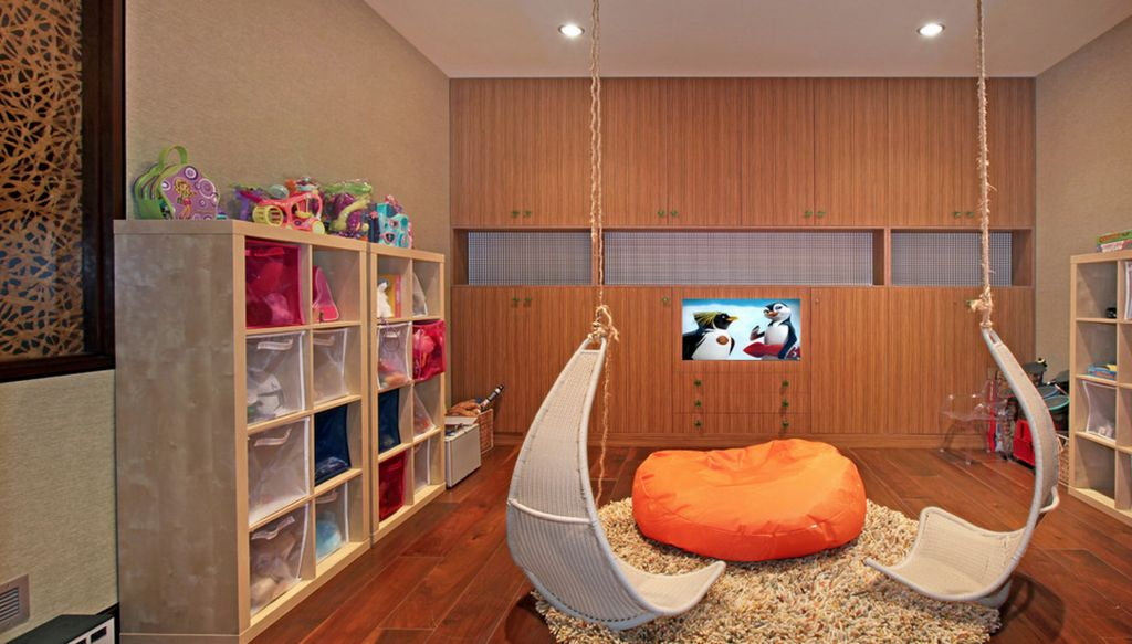 Fun Homes That Feature Indoor Swings And Stay Casual