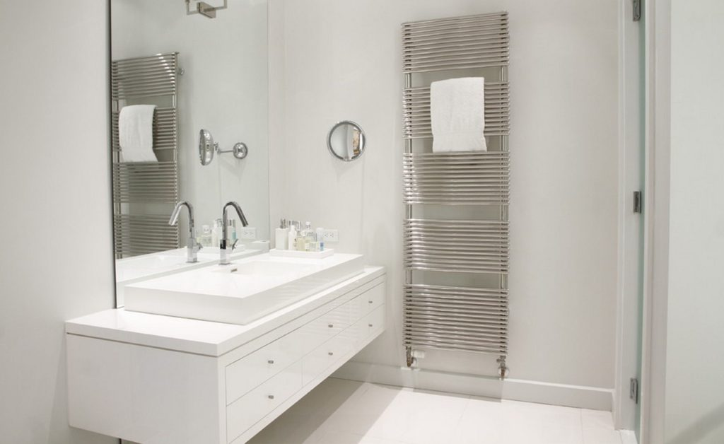 Large Wall Mounted Bathroom Towel Warmer
