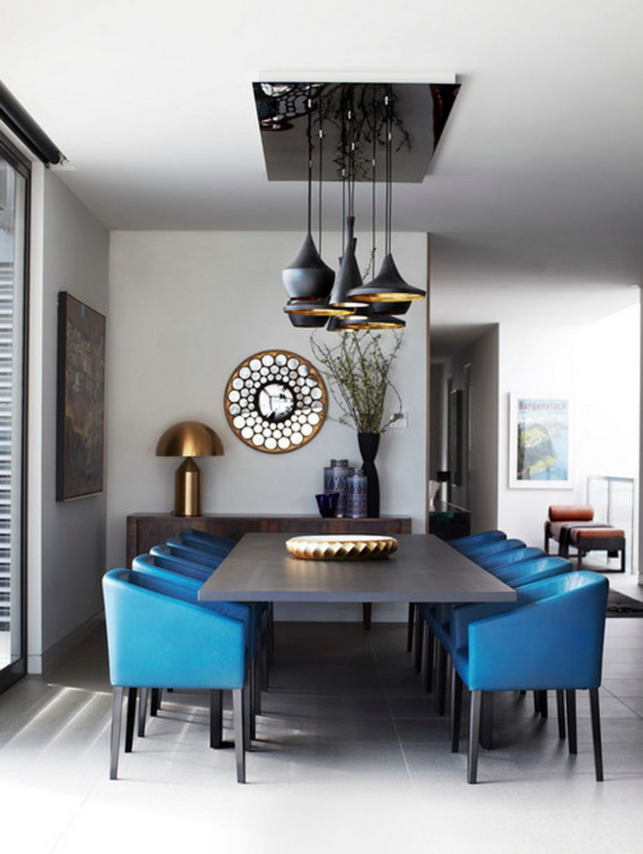 100 Blue Dining Room Ideas