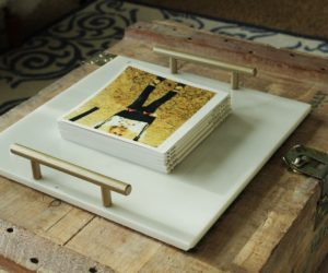 DIY Marble Tray: Sophisticated Elegance at Your Fingertips
