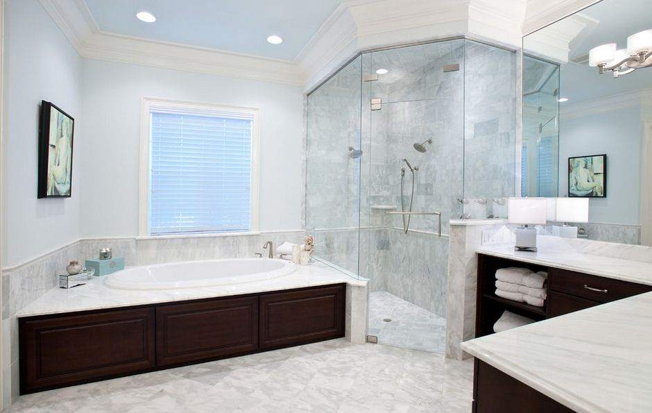 Master Bathroom Corner Showers Design Pictures Remodel Decor And Ideas Page 50