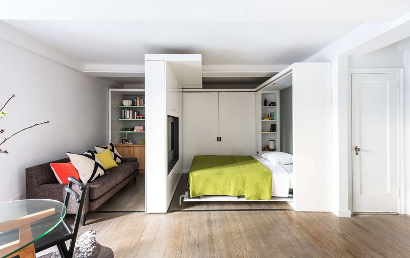 micro-apartment-sleeping-area