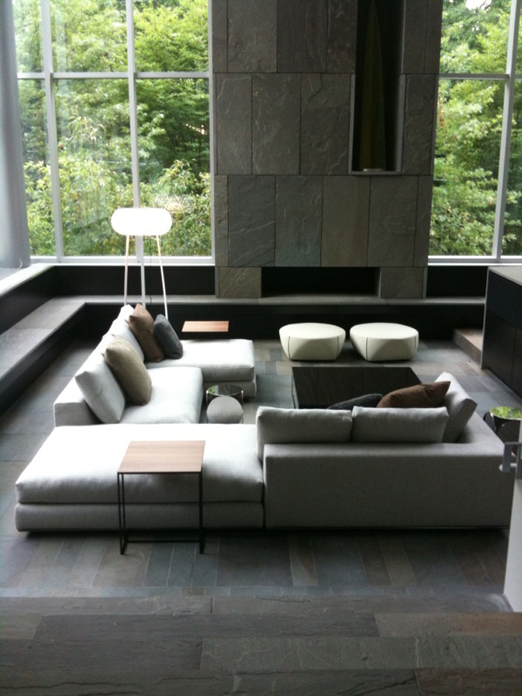 Sunken Seating Areas And Living Rooms