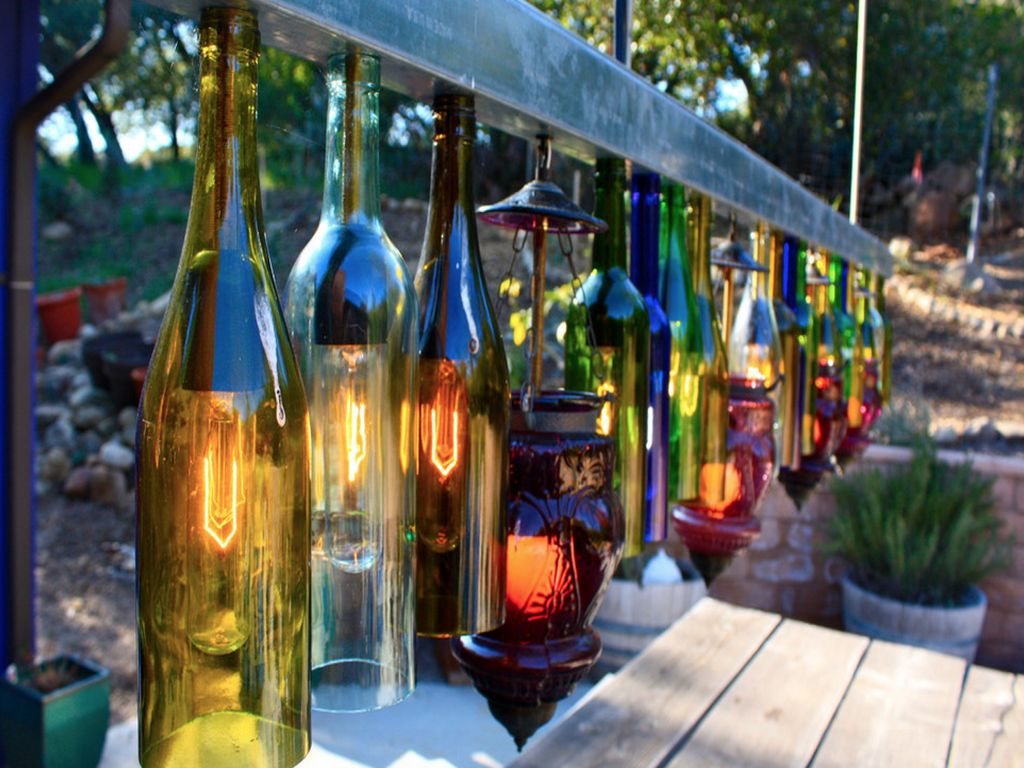 Outdoor chandeliers for your special spring spots 6 wine mozeypictures Images