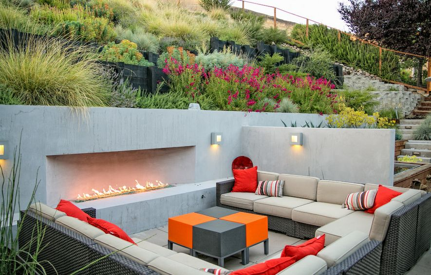 Outdoor Entertainment Area Design Ideas Part - 31: Sunken Designs Let You Explore The Depths Of Style