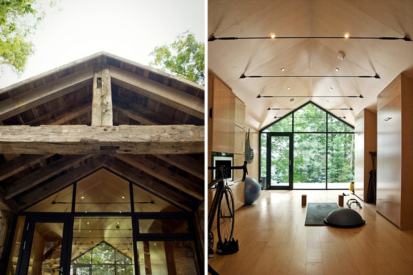 10 peaceful cabin designs that immerse themselves in nature for Bunkie interior designs