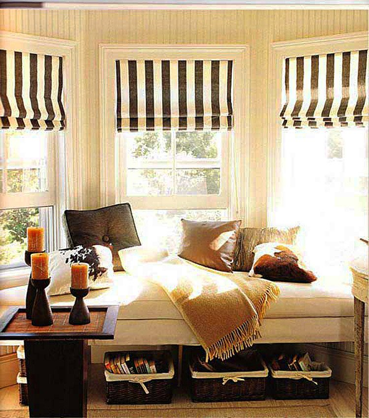 Modern Bay Window Styling Ideas Best Ideas For Bay Windows In A Living Room Concept