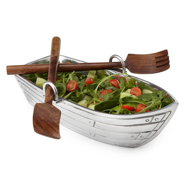 rowboat serving bowl