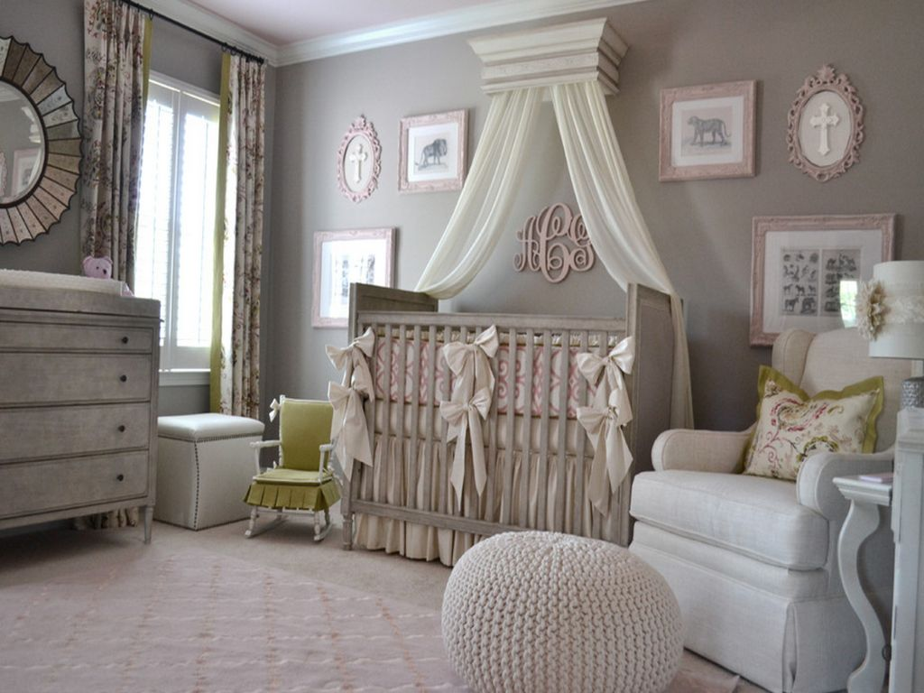 View in gallery & 15 Adorable Crib Canopy Designs For Eclectic Nurseries