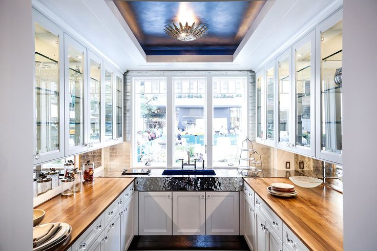 10 stylish and unique tray ceilings for any room for Show me beautiful kitchens