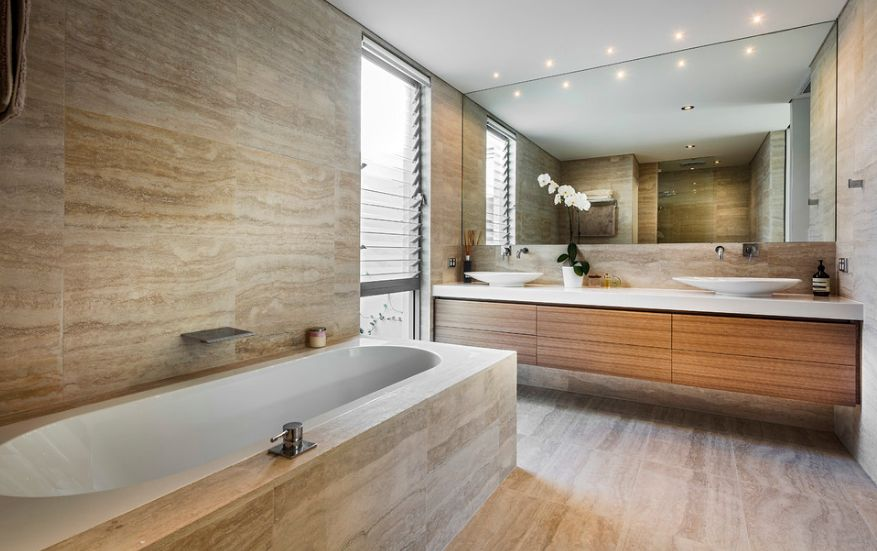Good Stone Bathroom Tiles Ideas Part - 8: 20 Functional U0026 Stylish Bathroom Tile Ideas