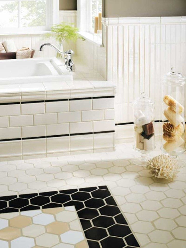 home tile design ideas. 12  3 Layer 20 Functional Stylish Bathroom Tile Ideas