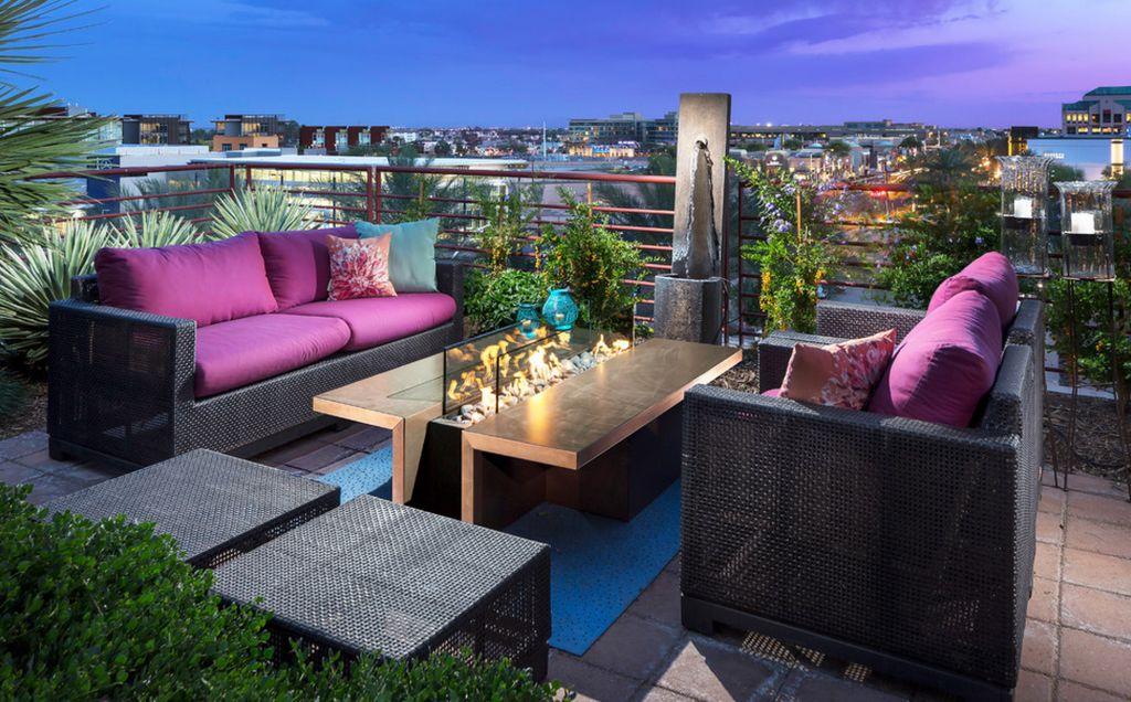 Introducing firepit tables a fiery combination of functions - Diseno de terrazas aticos ...