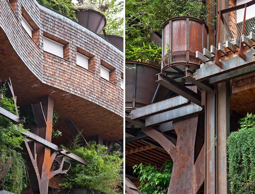 urban-treehouse-wooden-planking