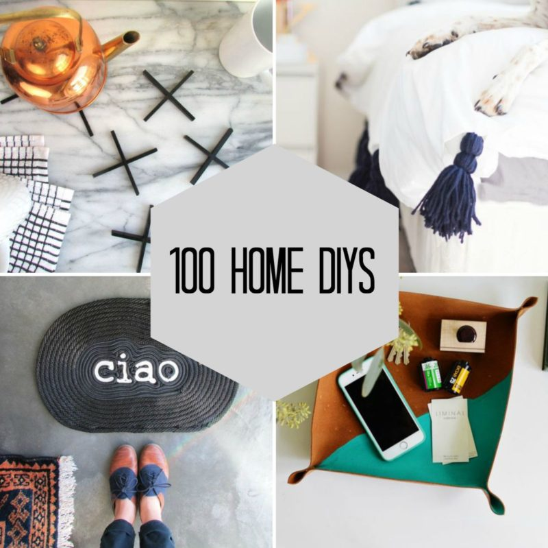 100 DIYs to Give Your Home a Makeover This Summer
