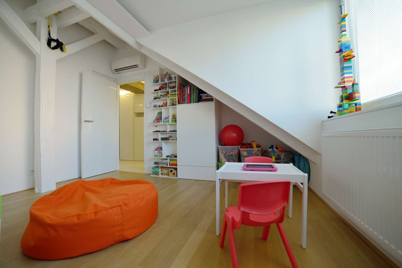 Bratislava-attic-apartment-bedroom-kids