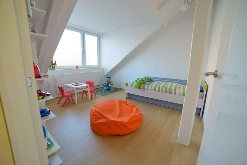 Bratislava-attic-apartment-bedroom-kids2