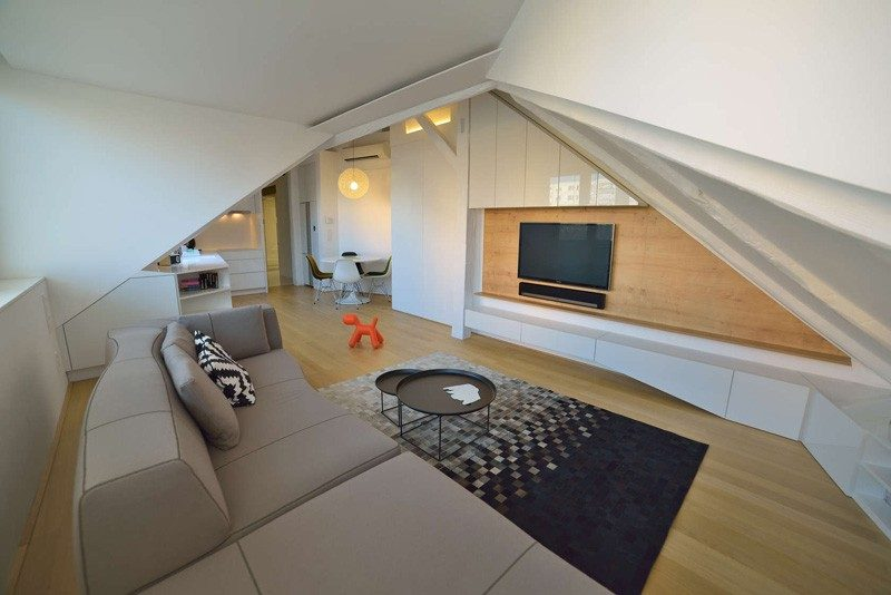 Attic Family Home With Hidden Nooks And Clever Storage