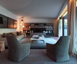 Contemporary Como Lake Resort Stays Casual In An Elegant Way