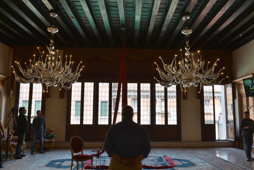 VENEZIA 31/05/13 - Fabio Fornasier IlLUsion evento al Liassidi Palace.