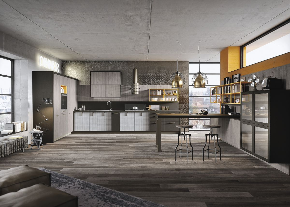 Bon Industrial And Rustic Designs Resurfaced By The New LOFT Kitchen