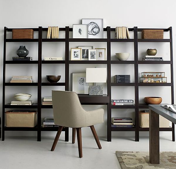 leaning bookshelf design possibilities casual with a hint of rh homedit com Floating Wall Shelves Floating Wall Shelves