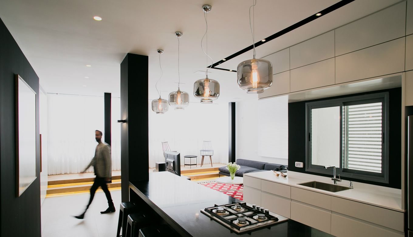 Tel-Aviv-apartment-kitchen-pendants
