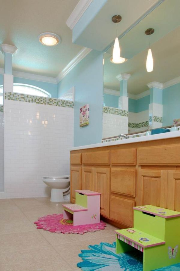 Kids Bathroom Color Coordinates