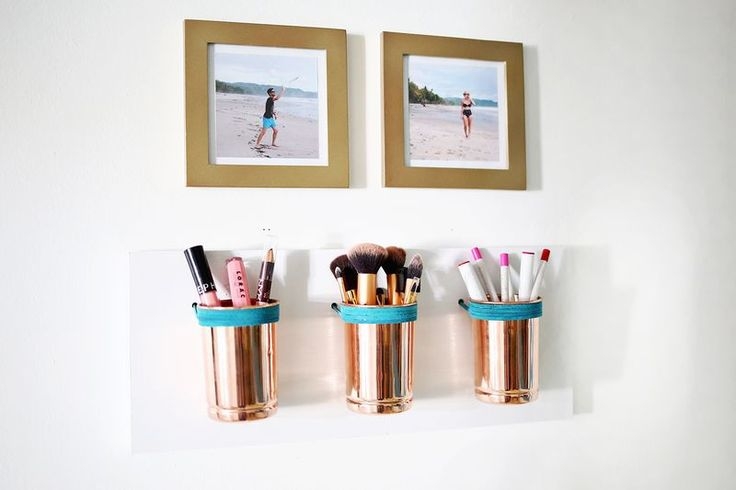 bathroom cup organizer