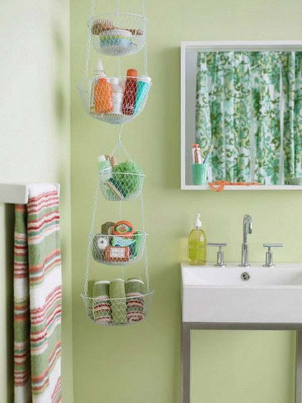 Easy Ways To Style And Organize The Kids Bathroom - Bathroom towel basket ideas for small bathroom ideas