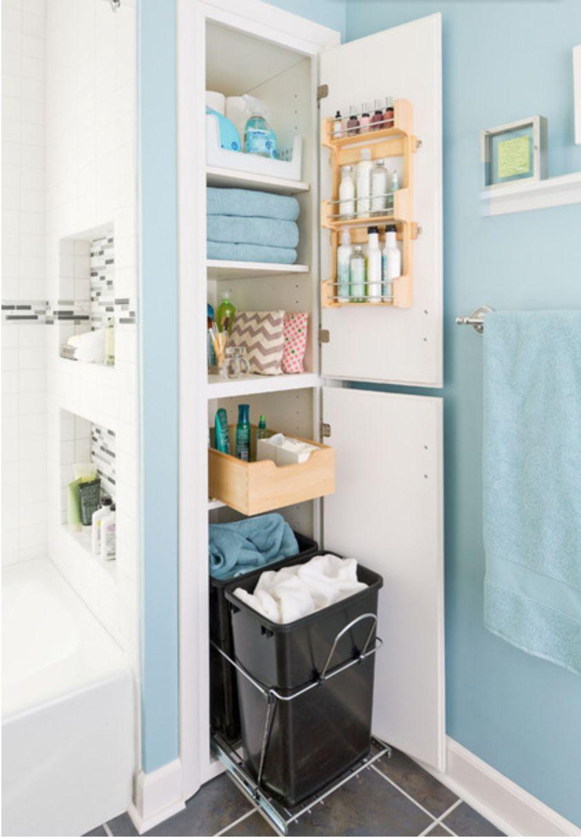 Креативные способы хранения на кухне и в ванной - статьи о м.