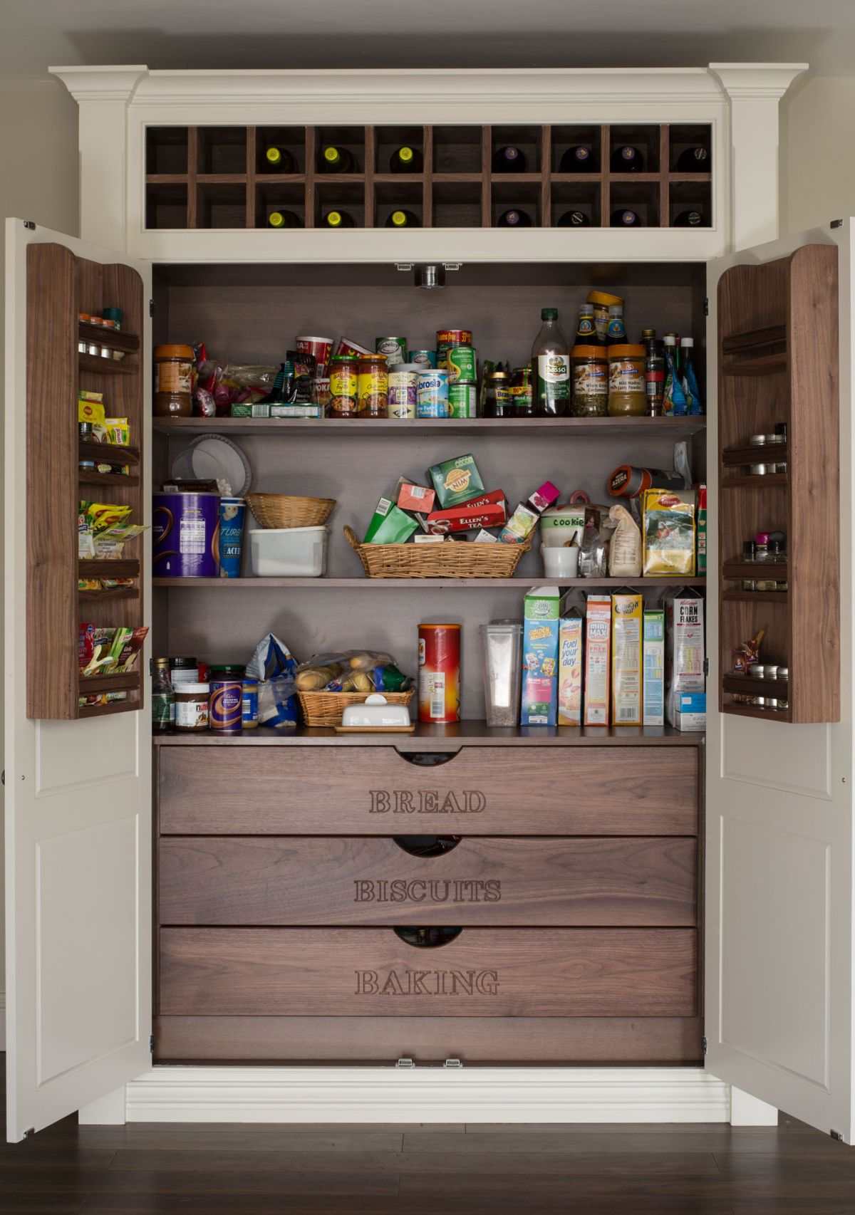 15 kitchen pantry ideas with form and function - Kitchen Pantries