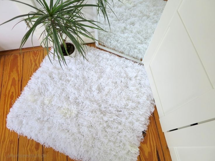 bedroom shaggy rug