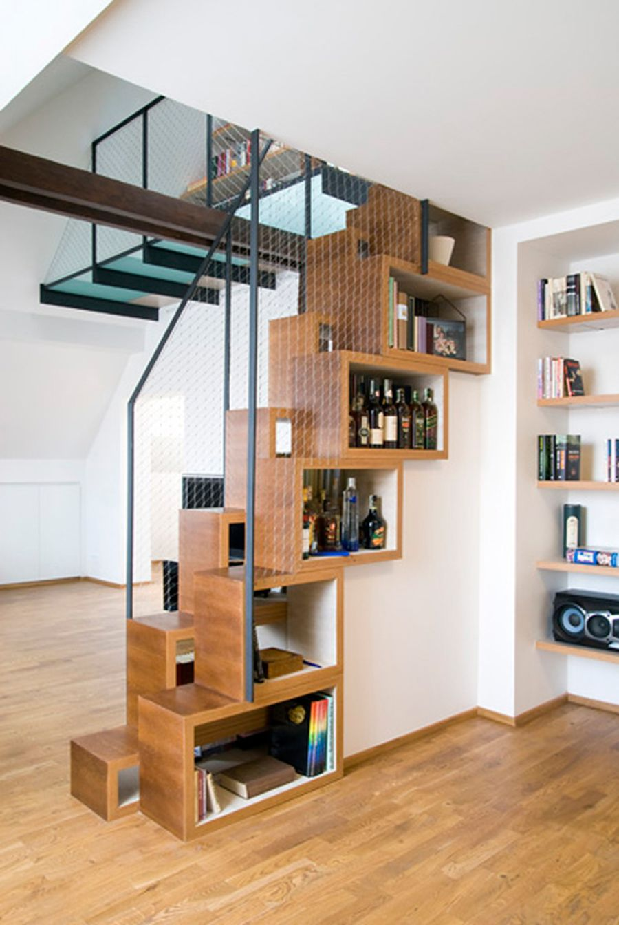 View in gallery - Alternating Tread Stairs Change The Perspective With New Designs