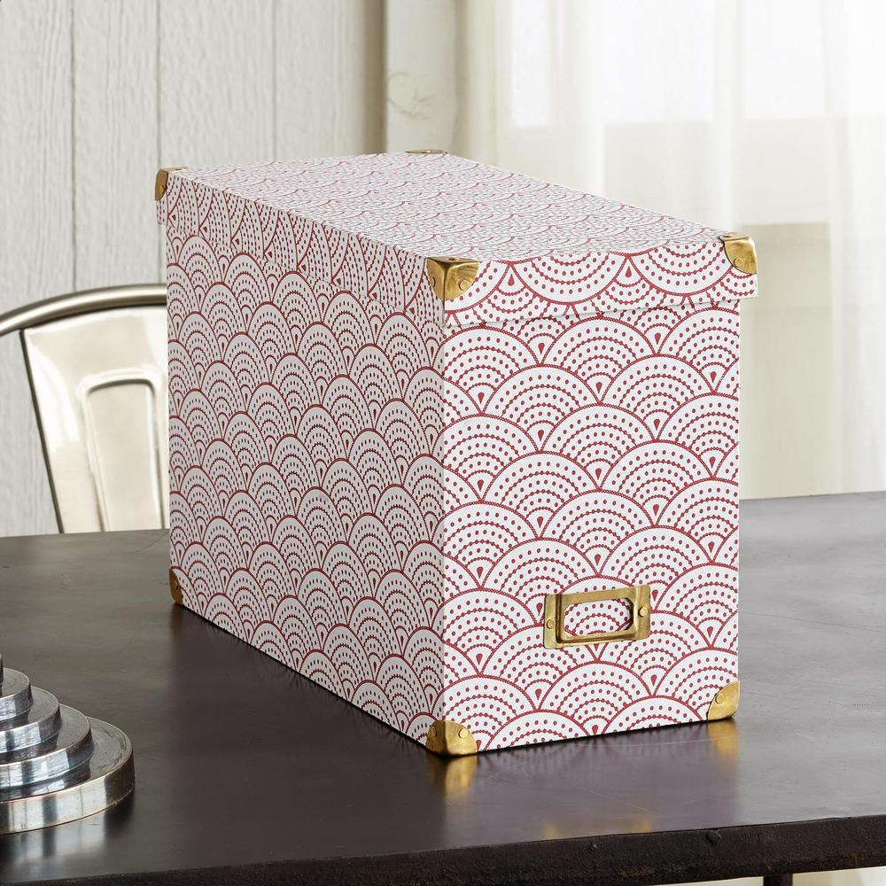 buy patterned box & 20 Ways to Organize Your Files that You Can Buy or DIY