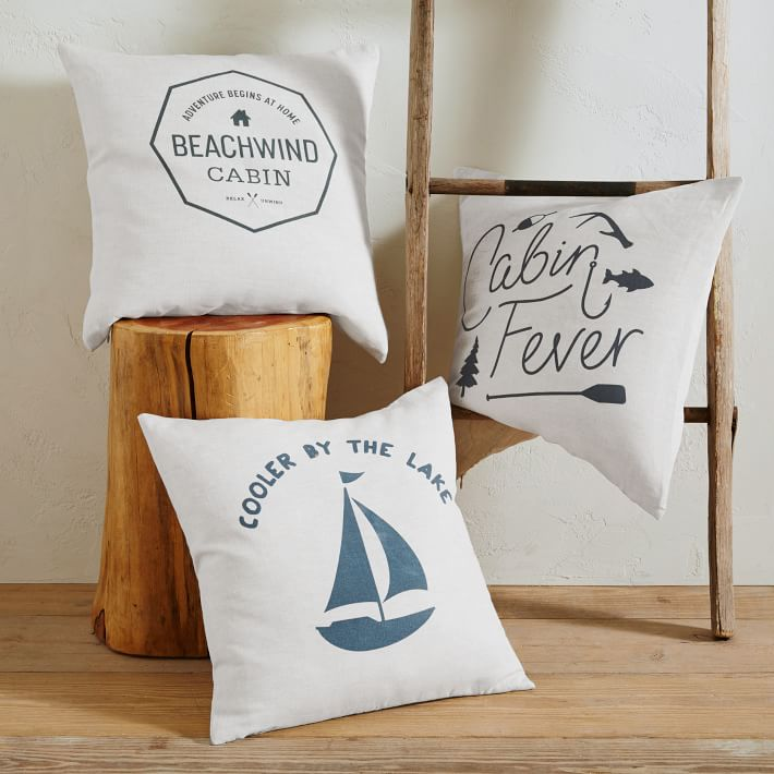 cabin pillows