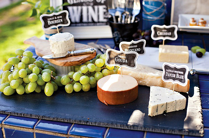 cheese wine party