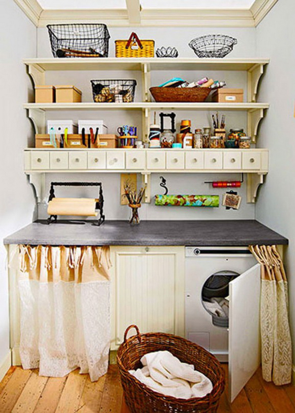 15 tips to creating a laundry room that s both charming - Laundry room design ideas ...