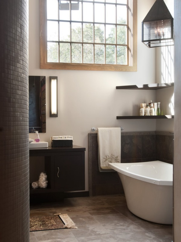 How To Style Your Corner Shelving Systems Simple Corner Shelves For Bathrooms